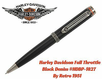 Harley Davidson Full Throttle Series #HDBP-1827 / Black Denim