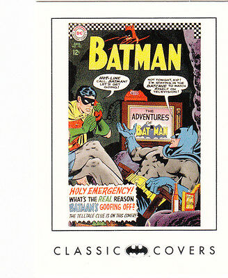 MINT BATMAN ARCHIVES CLASSIC COVERS CARD #22 ISSUE #183