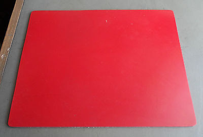SHUTAX RED ABRASIVE RESISTANT RUBBER SHEET - 300mm x 240mm x 4.5mm A4 SIZE