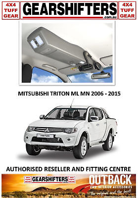 Outback Accessories Roof Console Mitsubishi Triton Ml Mn Dual Cab 2006-2015 Uhf