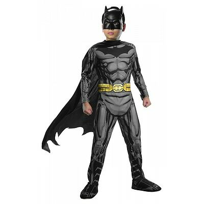 Batman Costume Kids Superhero Halloween Fancy Dress