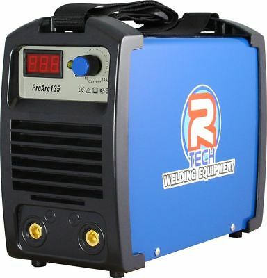 ARC Welder - MMA Portable Inverter Welder 135Amp 240V, R-Tech Pro-Arc135