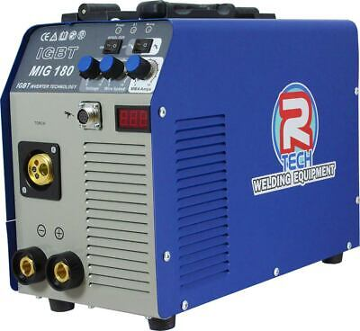 MIG Welder & MMA Welder - 180AMP Inverter 240V R-Tech - 0% Finance Available
