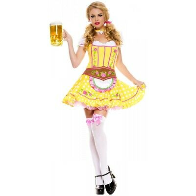 German Beer Maid Costume Adult Gretel Oktoberfest Halloween