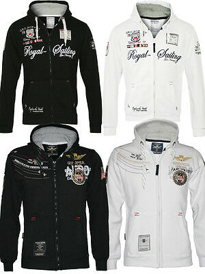 Geographical Norway FAERO + FIGHTER Hoodie Sweatjacke Jacke Pullover Gr. M-3XL