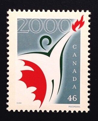 Canada #1835 MNH, Millennium Partnership Program Stamp 2000