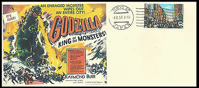 1956 Godzilla King of all Monsters Featured on Collector's Envelope
