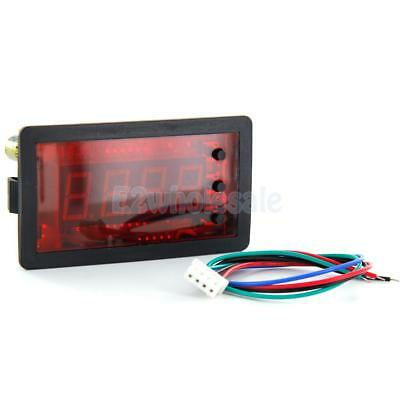 """0.56"""" Red LED 0~9999 Up/Down 4-Digit Counter Pulse/Switch Input Signal DC12V"""