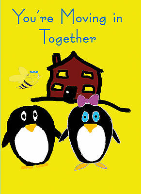 Your moving in together card