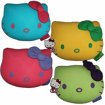 HELLO KITTY PLUSH PLÜSCH KATZEN POP DEKO KISSEN CUSHION 25 x 17 CM