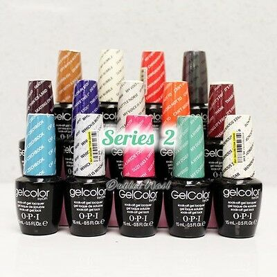 SUPER SALE OPI GelColor Series B Gel Polish Color O.P.I Collection 2014 SHIP 24H