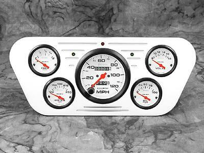 53 54 55 Ford Truck Billet Aluminum Gauge Panel Dash Insert Instrument Cluster