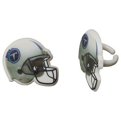 12 Tennessee Titans NFL Football Cupcake Rings Toppers Decorations Party  Favors d60b5dcdf
