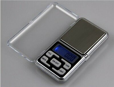 Electronic Pocket Mini Digital Gold Jewelry Weighing Scale 0.01g Weight 200 Gram