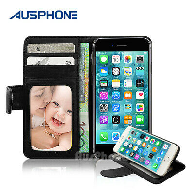 NEW Flip Premium Leather Wallet Stand Case Cover for Apple iPhone 6S 6