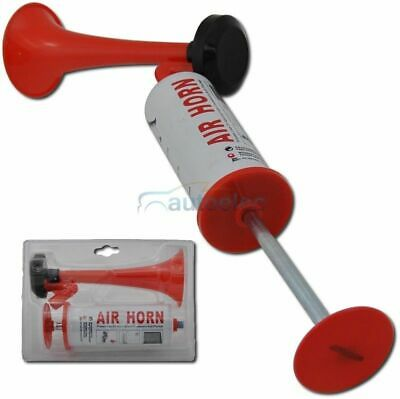 Air Horn Hand Held Pump Action Emergency Distress Signal Marine Boating No Gas