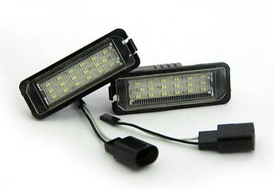 VW Passat CC (09-11) 18 SMD LED Replacement Number License Plate Units 6000K