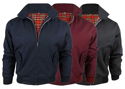 Kids Classic Harrington Retro Jacket - Tartan Lined | Made In Britain
