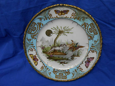 Serves Antique Hand Painted Plate