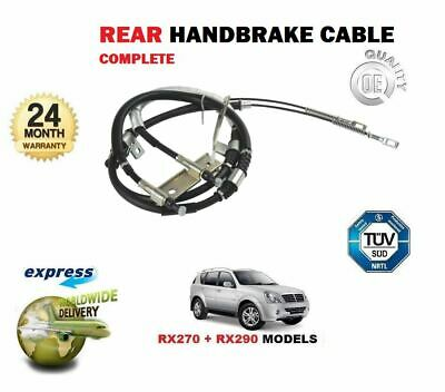 For Ssangyong Rexton Rx270 Rx290  2004-2007 New Rear Hand Brake Cable 4901008102