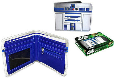 Star Wars: R2-D2 Bi Fold Wallet With Coin Pocket - New & Official In Picture Box