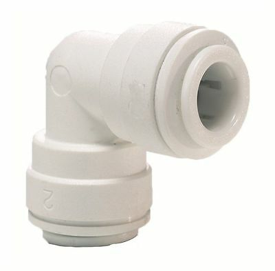 """Elbow Connector 1/4"""" For Water Pipe Tubing Filter Systems Coolers Fridge Freezer"""