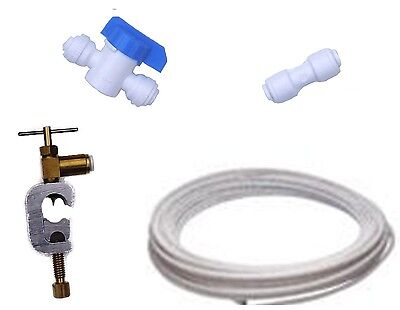Mains Fed Plumbed Water Cooler Plumbing Fitting Connection Kit Clamp Connector