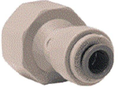 """John Guest Tap Adapter Filters Freezers 15mm 1/2"""" Bsp X 1/4"""" Push Fit Connector"""