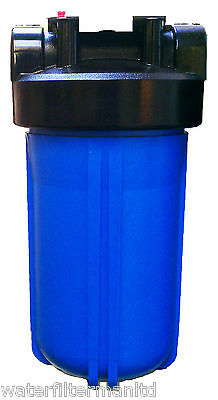 "10"" Jumbo Water Filter Housing, 1"" BSP Ports & PRV, BB Big Blue Filter Housing"