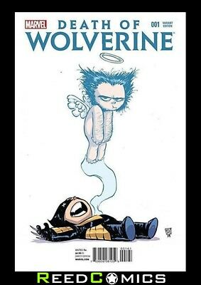DEATH OF WOLVERINE #1 SKOTTIE YOUNG BABY VARIANT (2014 Series) New 1st Printing