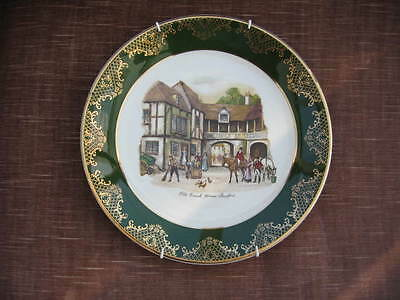 WEATHERBY ROYAL FALCON OLD COACH HOUSE STRATFORD 22 cm CERAMIC PLATE