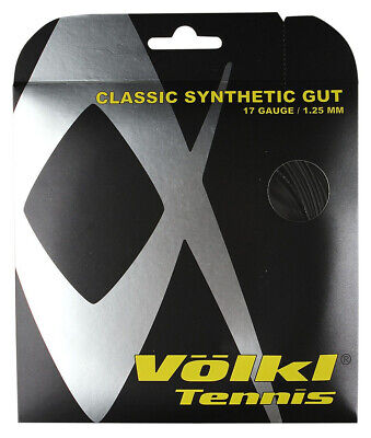 Volkl Classic Synthetic Gut 1.25mm 17 Tennis Strings Set