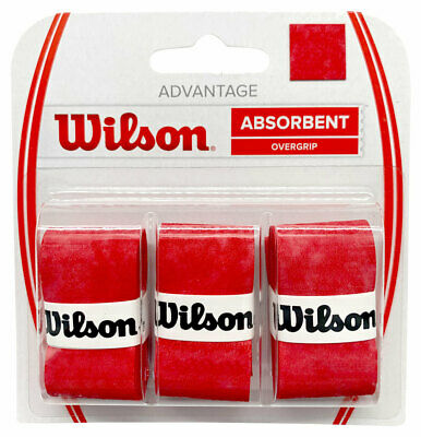 Wilson Advantage Tennis Racquet Racket Overgrip 3 Pack