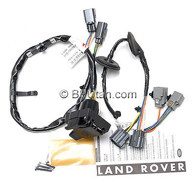 genuine land rover lr4 tow hitch trailer wiring wire harness 2015 cr-v trailer hitch wiring harness genuine land rover lr4 tow hitch trailer wiring wire harness electric vplat0013