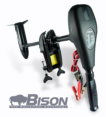 Bison 55 Electric Outboard Motor + Charger