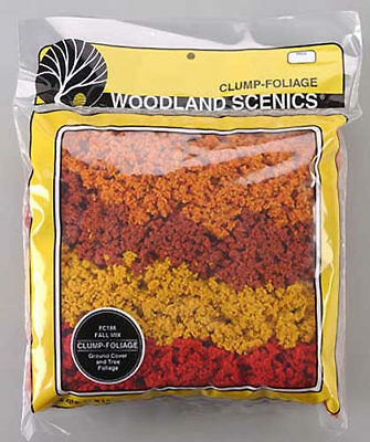 NEW Woodland Scenics Clump Foliage Fall Mix FC186