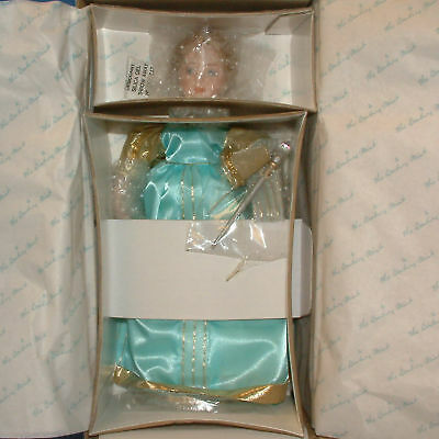 "Danbury Mint Porcelain Doll-Storybook-Fairy Godmother-11"" lot1351"