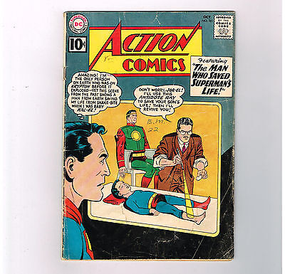 """ACTION COMICS (v1) #281 Silver Age DC! """"The Man Who Saved Superman's Life""""!"""