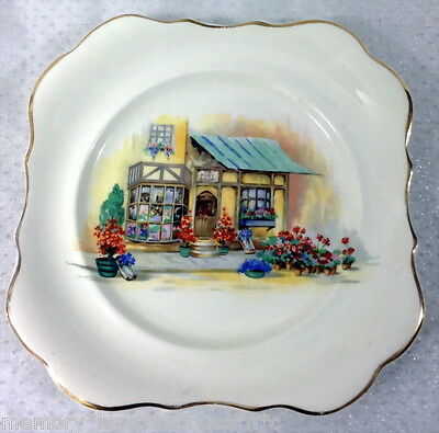 LANCASTER & SANDLAND SQUARE SANDWICH PLATE THE POSY SHOP GORGEOUS
