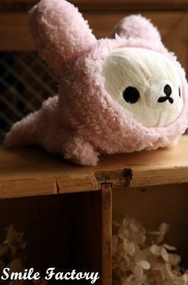 Girls and Boys Plush Pen Pencil Case Storage Bag bargain Hot Sell Head Pink