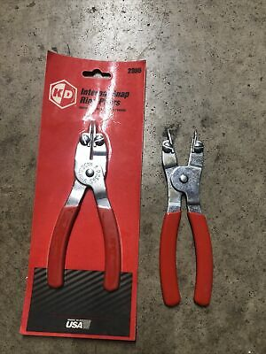 New Kd Tools 2396 External Snap Ring Pliers & 2395 Internal New In Package