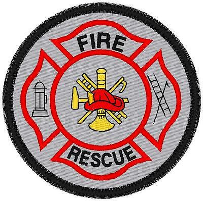 REFLECTIVE CUSTOM EMBROIDERED FIRE AND RESCUE