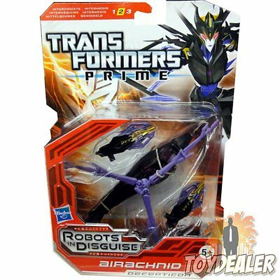 Airachnid Transformers Prime Deluxe Robots In Disguise Figur Ovp Neu Moc