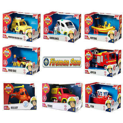 Fireman Sam Vehicles Choice of Vehicle One Supplied NEW