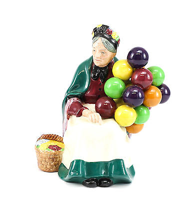 Royal Doulton The Old Balloon Seller Hand Painted Porcelain Figurine HN 1315