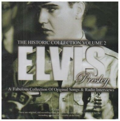 The Historic Collection Vol.2 - Elvis Presley CD