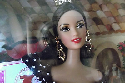 New Pink Label Dolls Of The World Spain Barbie Doll