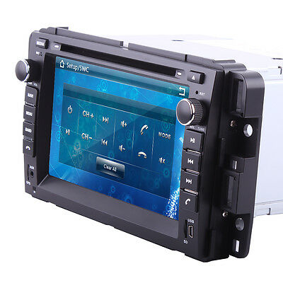 "Pro 7"" Double 2Din Car DVD Player For Chevrolet Silverado GPS BT iPod Radio Map"