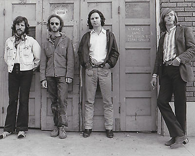 Jim Morrison & The Doors Rock Music 8X10 Glossy High Quality Photo - Must Have!!