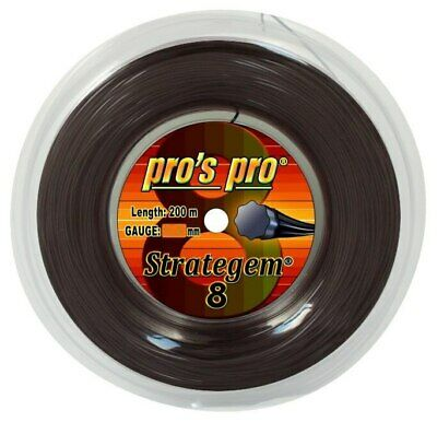 Pro's Pro Strategem 8 1.26mm 16L Tennis Strings 200M Reel